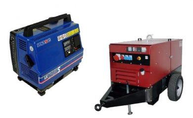 Generatori e gruppi elettrogeni