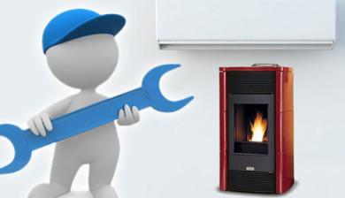 Servizio installazione climatizzatori - stufe a pellet