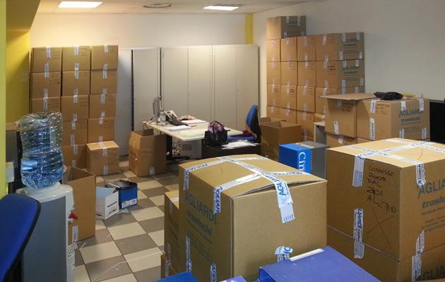 Servizio trasloco ufficio azienda